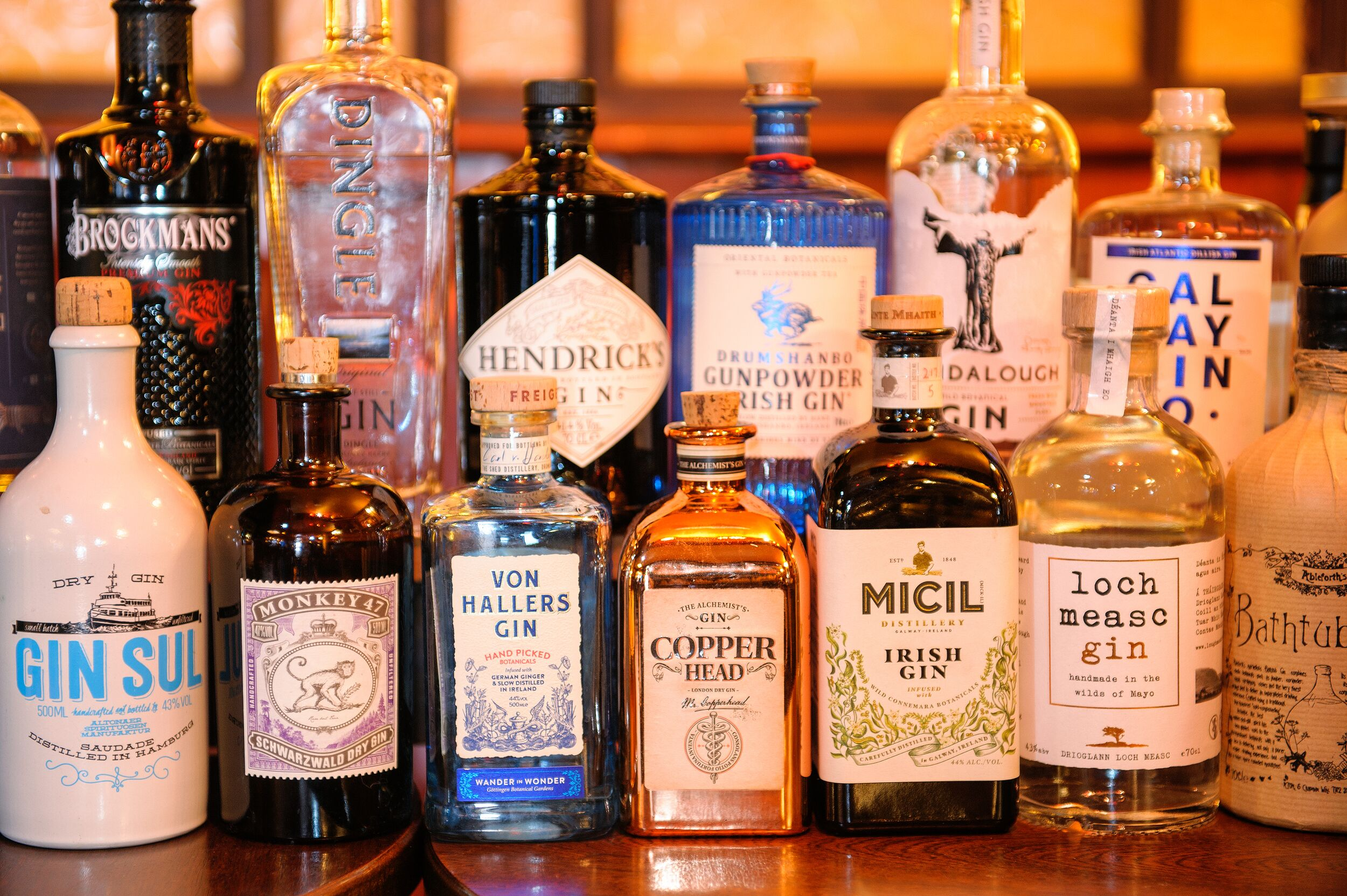 A Selection of Our Gins